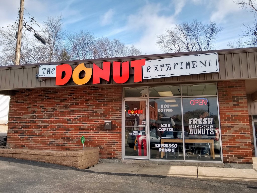The Donut Experiment building