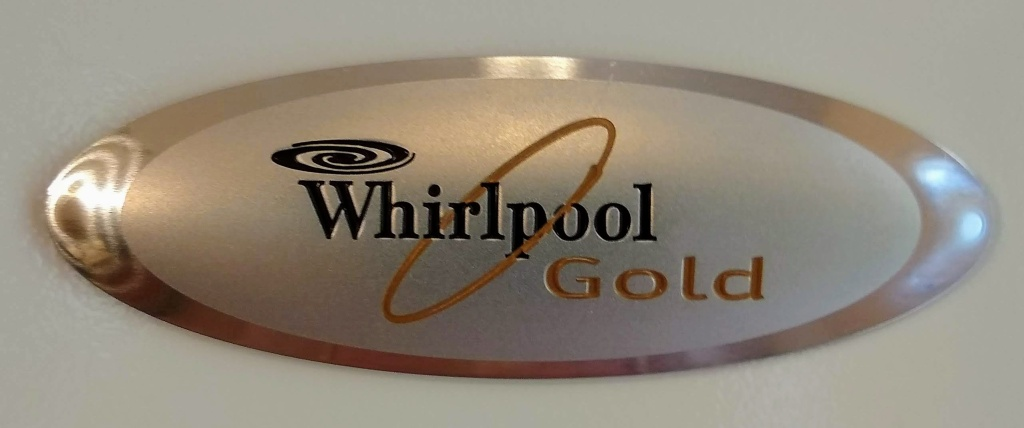Whirlpool Gold tag.