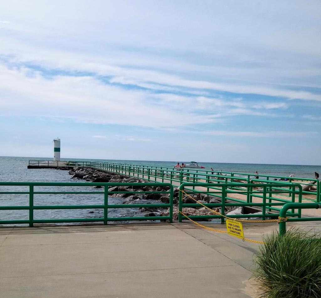 Pier closed.