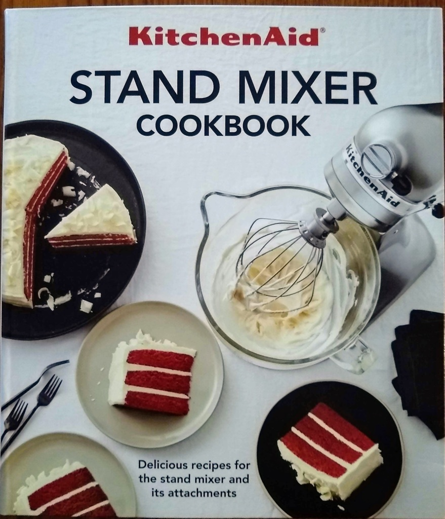 KitchenAid recipe book.