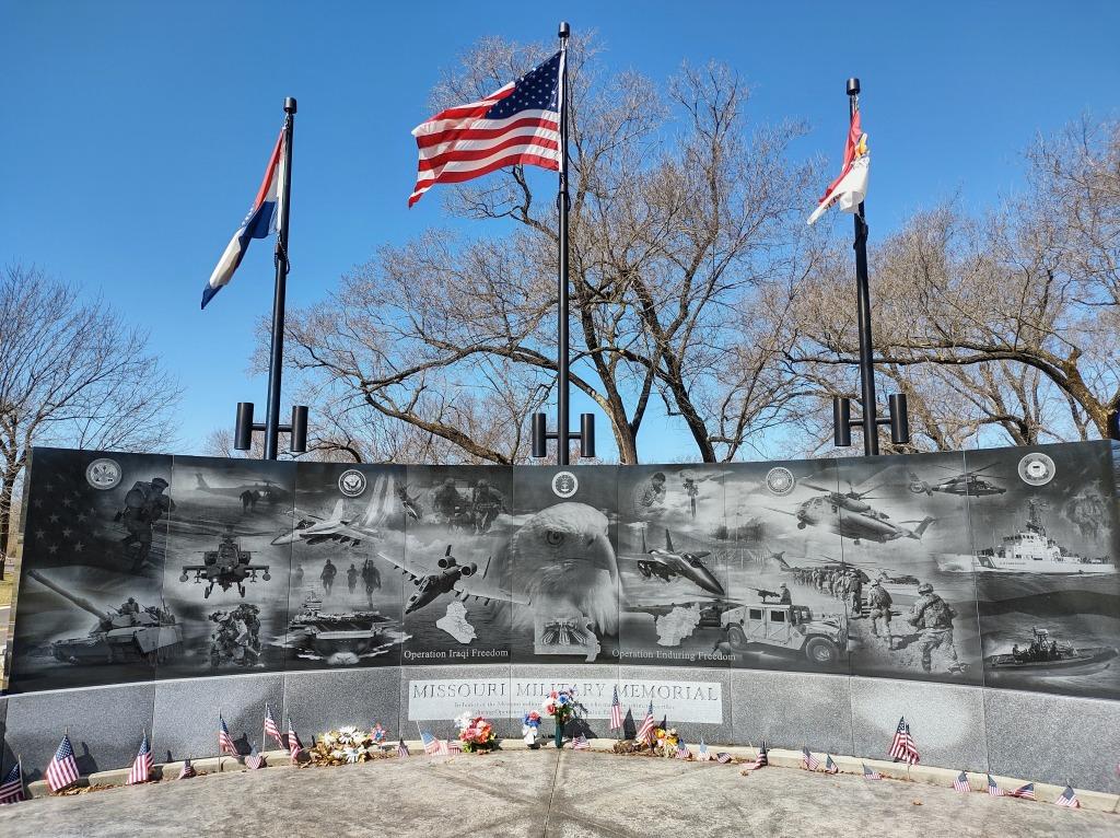 Missouri Military Memorial in Jefferson Barracks County Park in St. Louis, Missouri