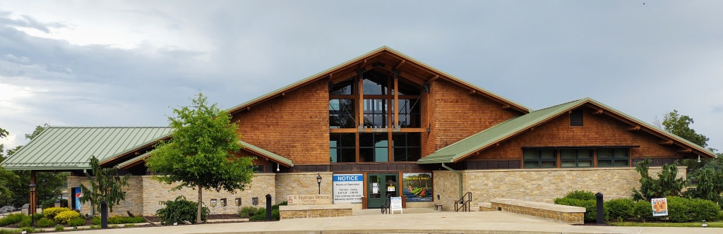 M.W. Boudrawux Memorial Visitor Center.