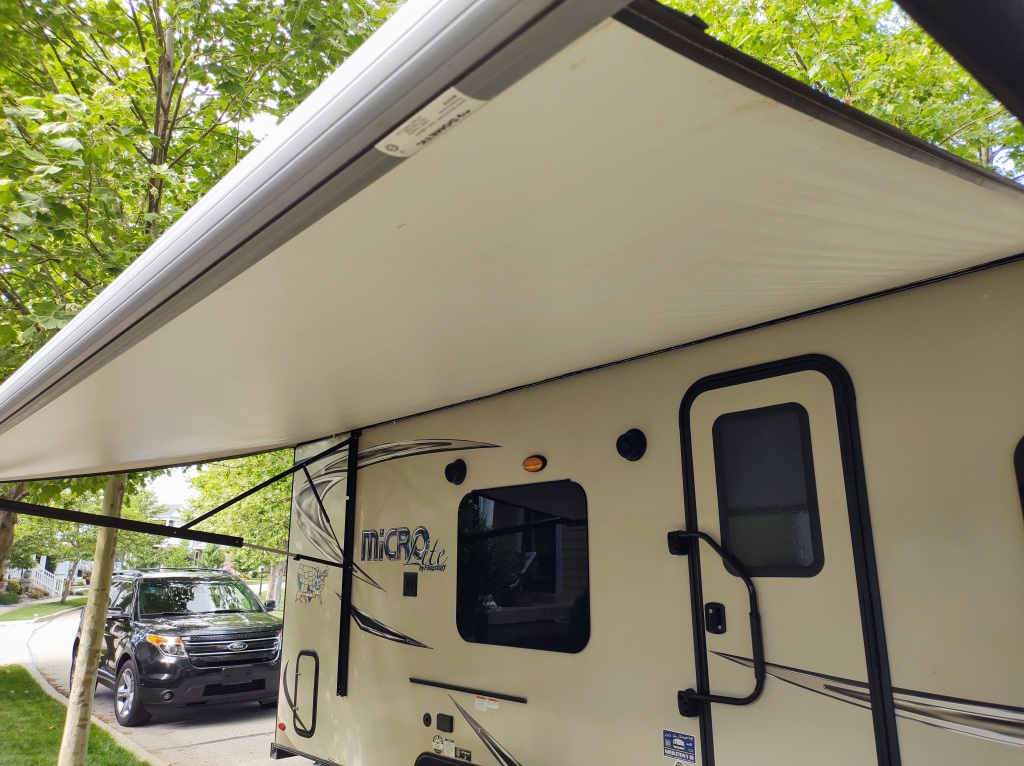 Clean awning.