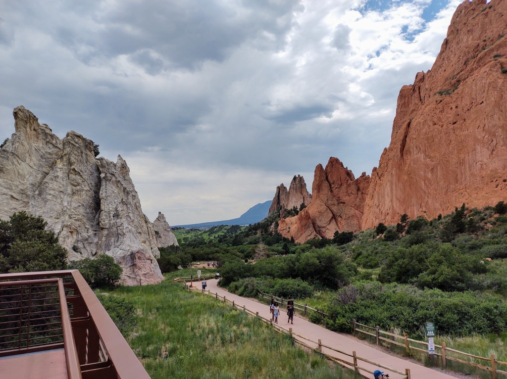 View at Garden of the Gods.