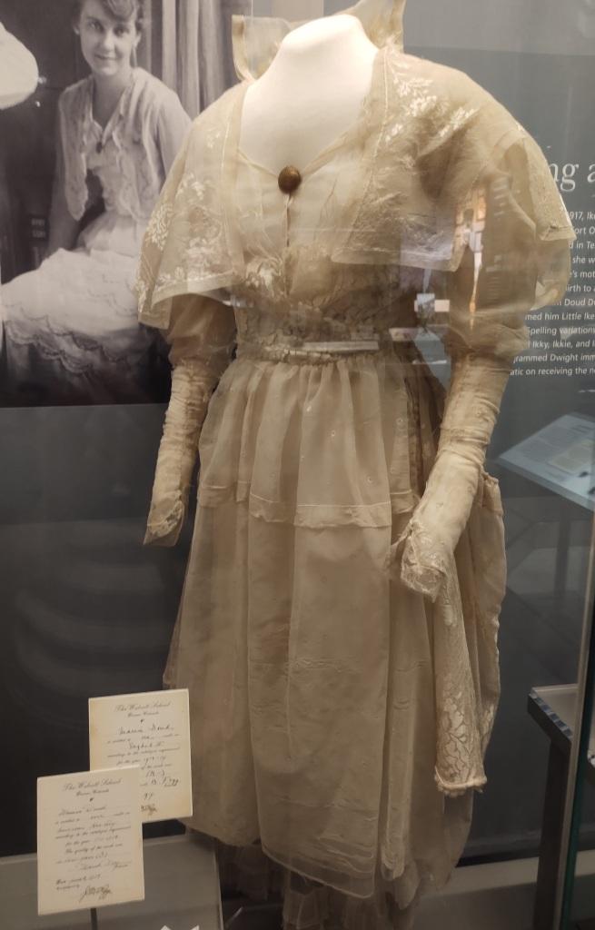 Mamie's wedding dress.