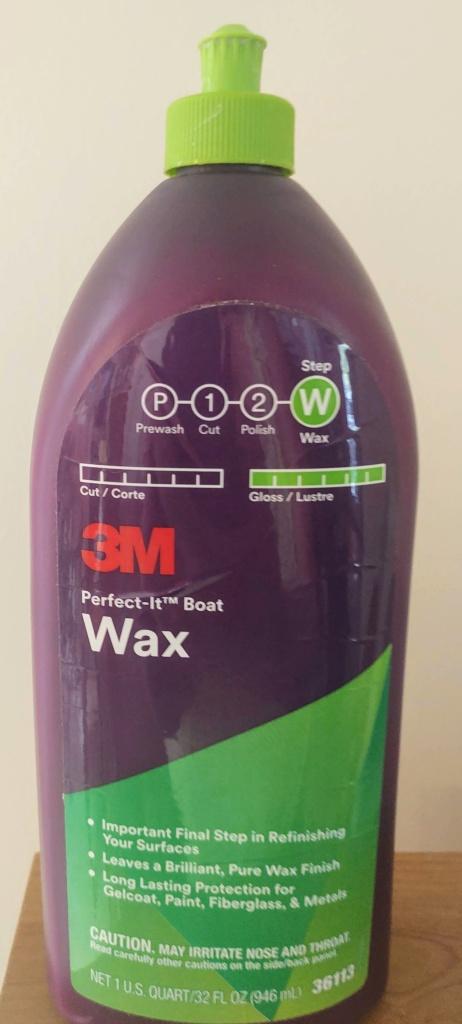 3M Perfect-It Boat Wax.